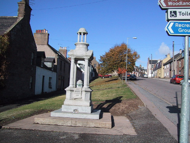 The Bruce Fountain in Auchenblae
