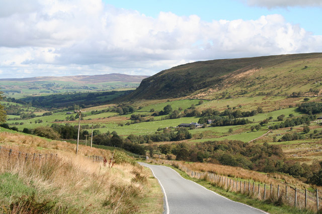 Ysbyty Ifan: the road from Bala