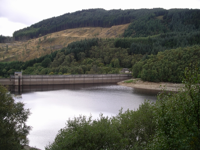 Dam, Glen Finglas reservoir