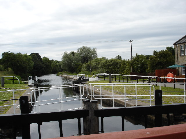 Underwood Lock Forth and Clyde canal
