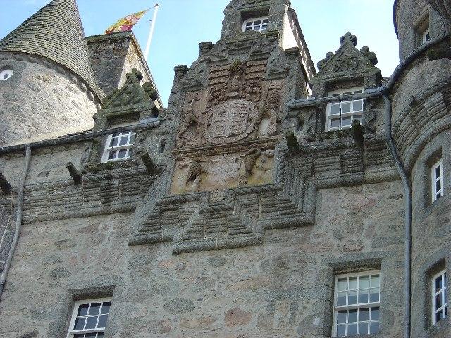 Castle Fraser Coat of Arms