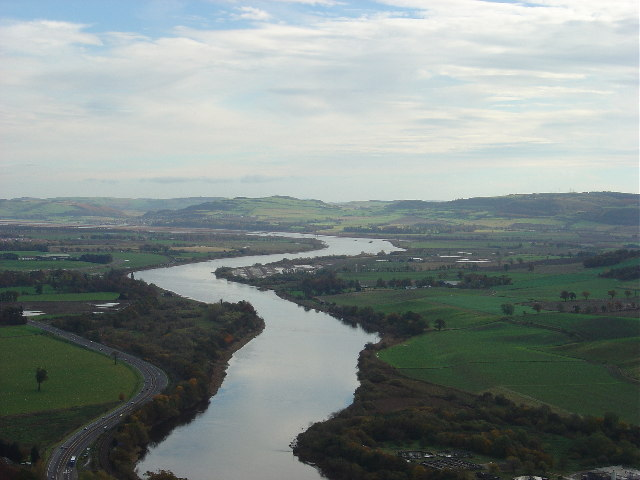 River Tay from Kinnoull Hill