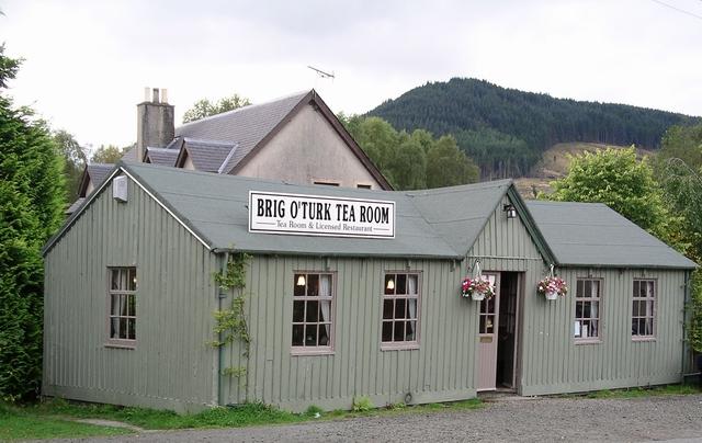 Brig O'Turk Tearoom