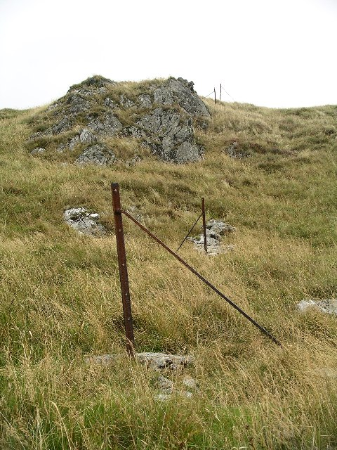 Old fence, Ben Ledi