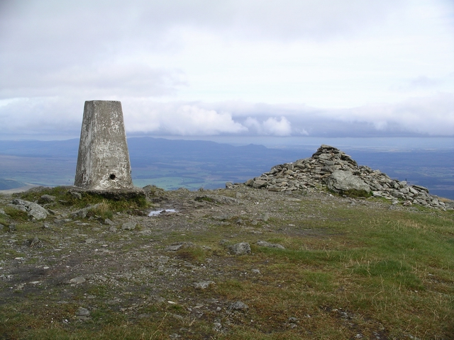 Summit, Ben Ledi