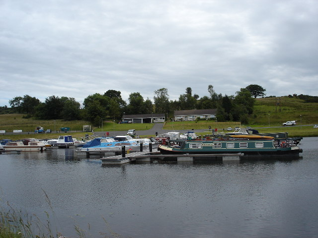 Auchinstarry Marina Forth and Clyde canal