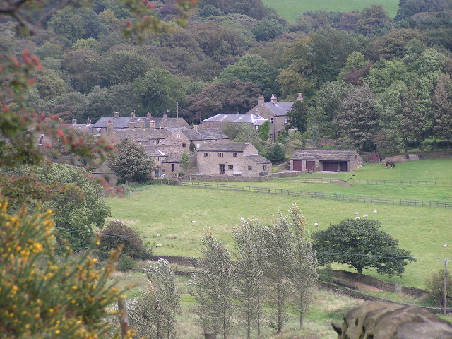 Little Hayfield from the southwest