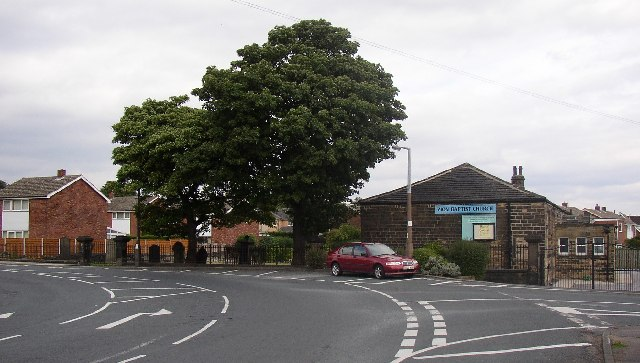 Zion Baptist Church, Water Royd Lane, Mirfield