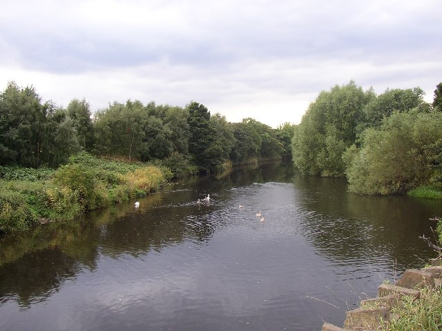 River Calder, Battyeford, Mirfield