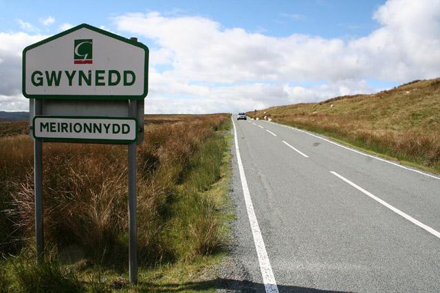 Ysbyty Ifan: Gwynedd – Conwy border