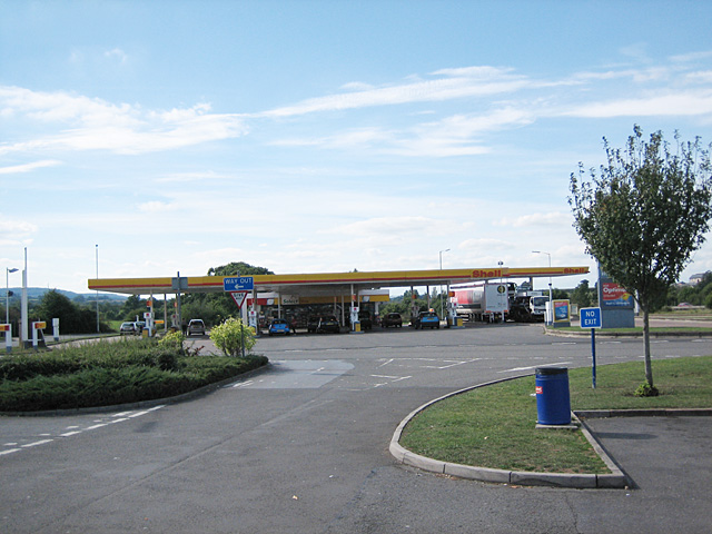 Taunton Deane Services - South-Bound