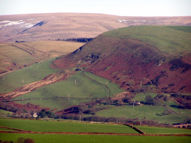 Part of the Darren Valley Near Maesteg