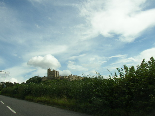 Long View Of Bolsover Castle