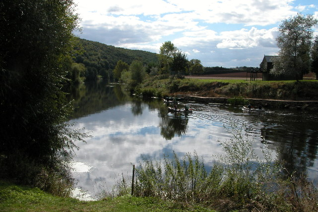 The River Wye at How Caple