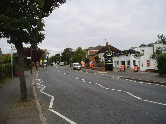 B 269 at Limpsfield Road, Sanderstead, Surrey