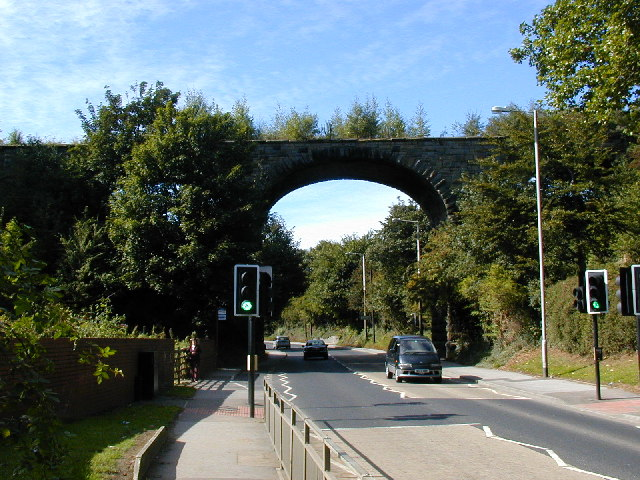 Railway viaduct north-west of Pontefract