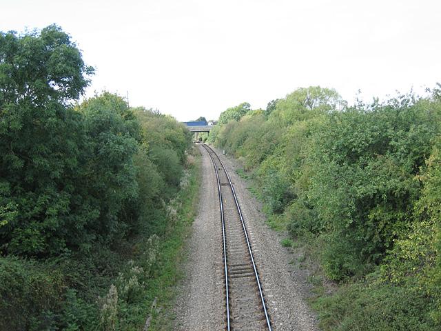 Railway near Evesham