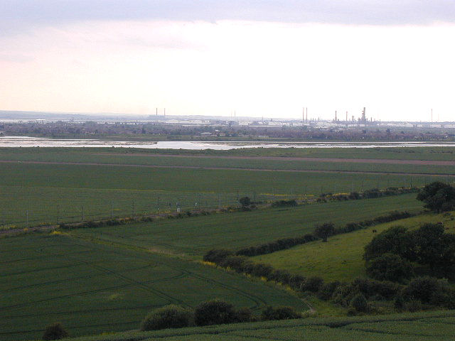 Leigh cliffs and Hadleigh marshes