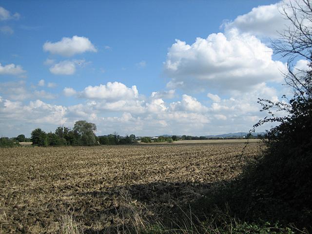 Fields near Clayfield Crossing
