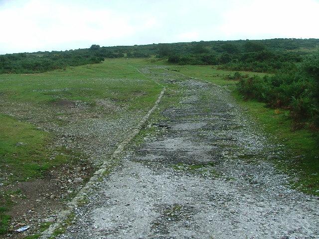 Disused Track, Hawks Tor