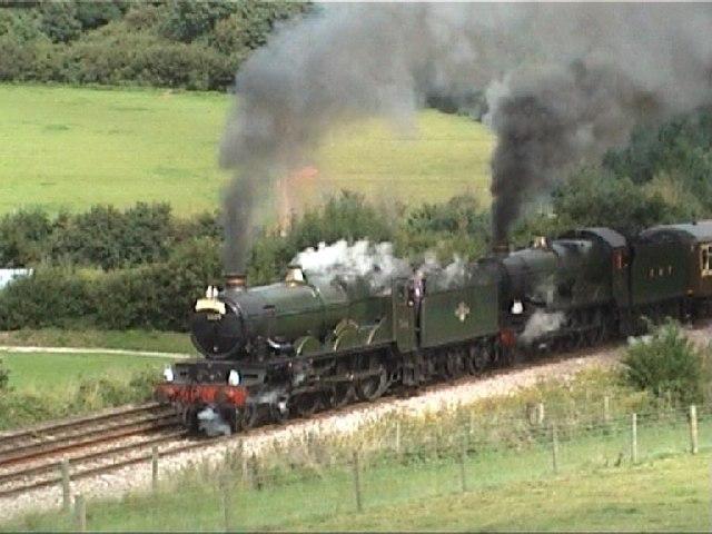 Double-headed Steam, Dainton Bank