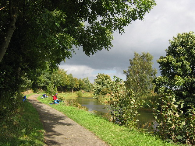 Forth and Clyde Canal near Hungryside Bridge, Torrance