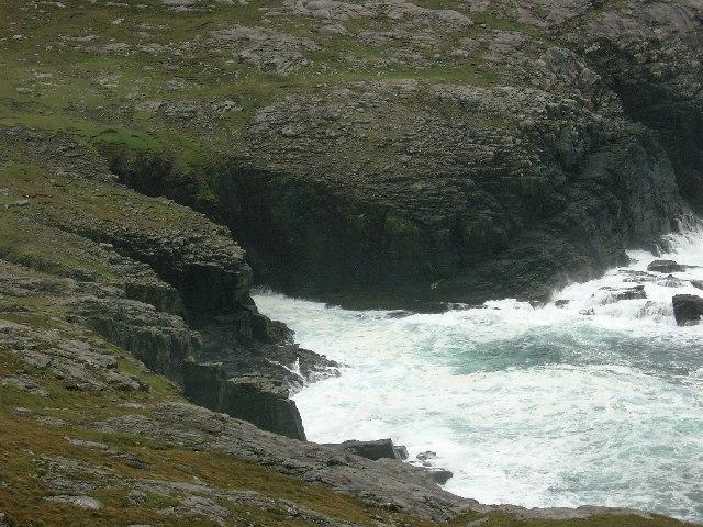 Sea Stacks south of Rubha na Doirlinn
