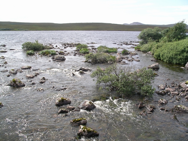 Outflow, Loch Osgaig