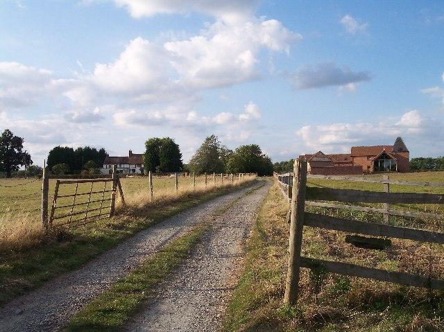 Folly Farm  and converted barn