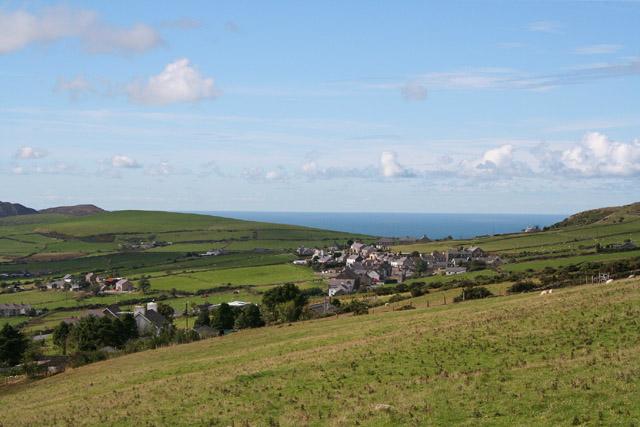 Pistyll: towards Llithfaen and Caernarfon Bay