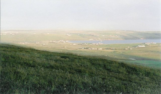 Scapa Bay from Wideford Hill