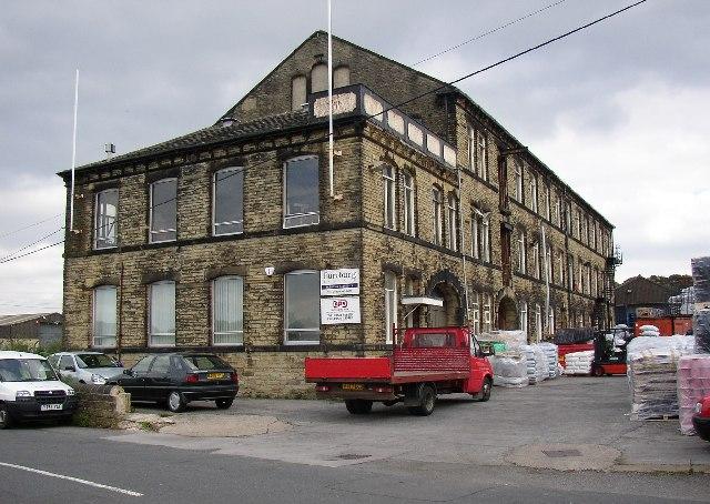 Factory at Moor Top, Mirfield