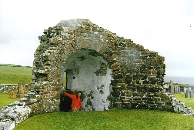 Orphir - round church