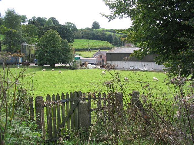 Nether Lee Farm and Rushton Bank