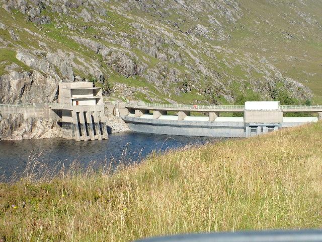 Monar Dam - Upstream
