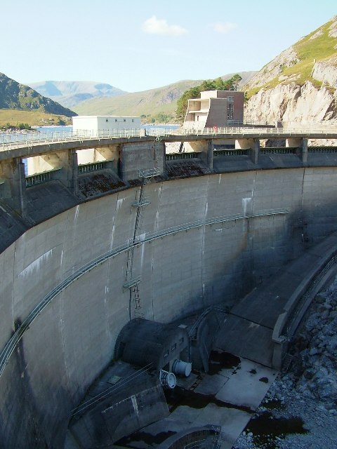 Monar Dam - Downstream Face
