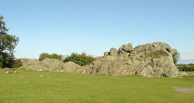 Roborough Rock, Roborough Common, Yelverton, Devon