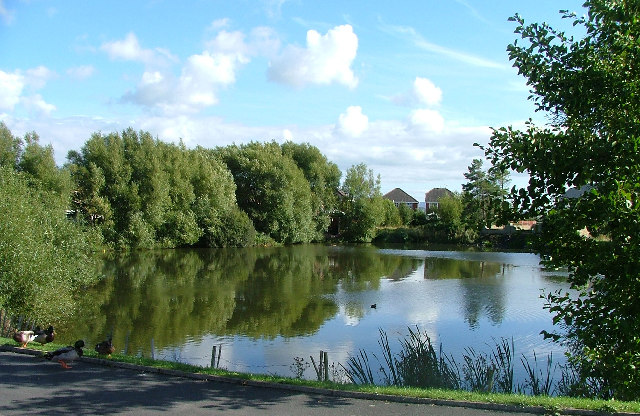 Duck Pond, Cathedral Drive, Morecambe, North Lancs.