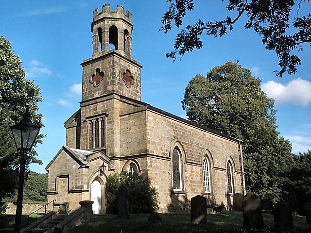 St Helen's parish church, Denton
