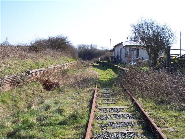 Llangwyllog station, Anglesey