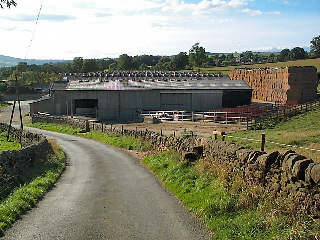 Cowshed near Denton