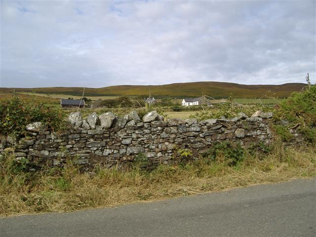 Manx dry stone wall