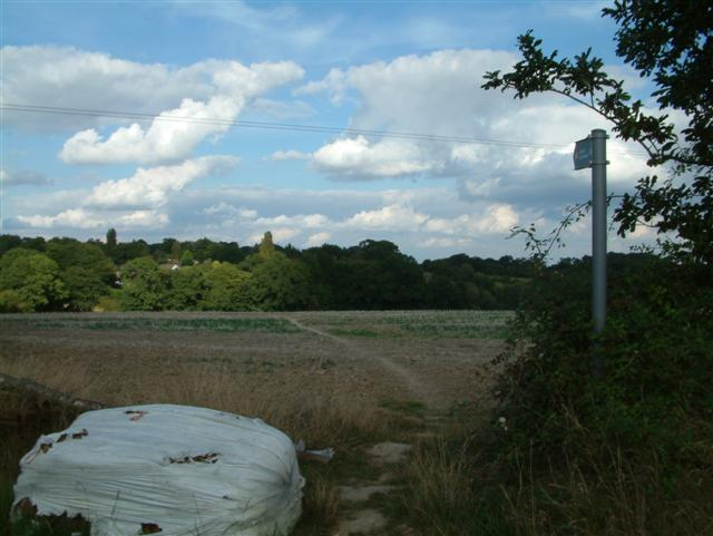 Footpath to Stratfield Mortimer
