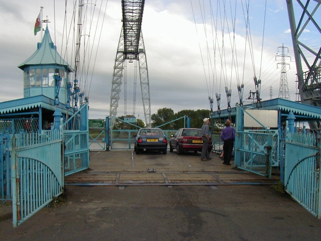 Newport Transporter Bridge gondola