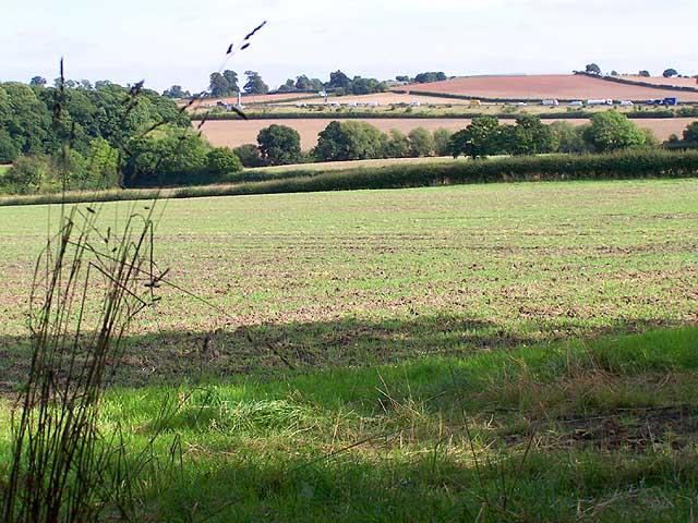Farmland at Shortwood Farm, Trowell