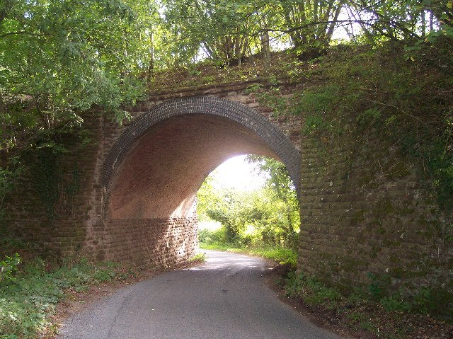 Worcester & Bromyard Railway Bridge