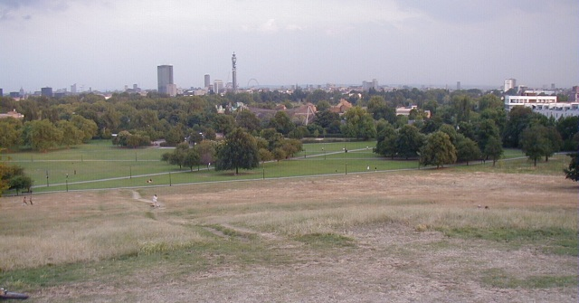 Summit of Primrose Hill