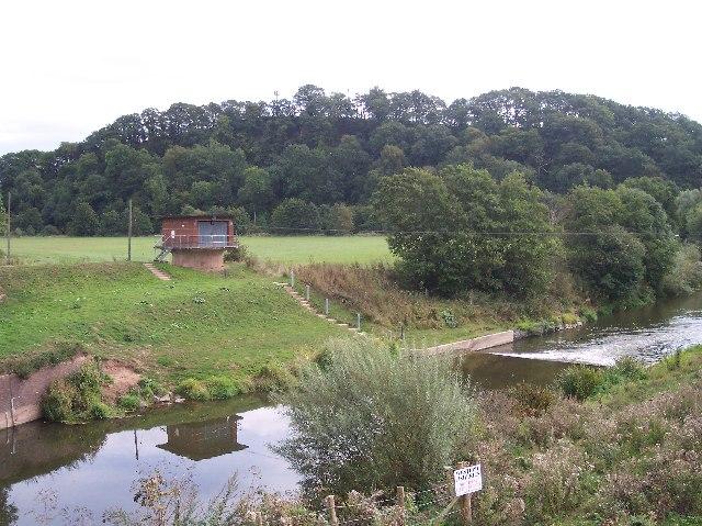 River Flow Measurement Station, Knightsford Bridge.