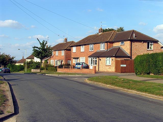 Elizabeth Road near Newbury
