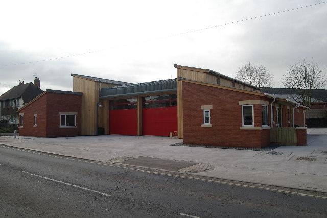 Crediton Fire Station